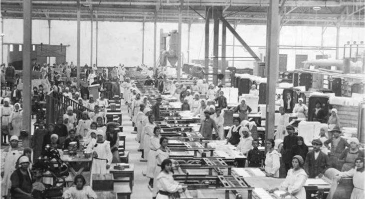 Interior fabrică – 1935