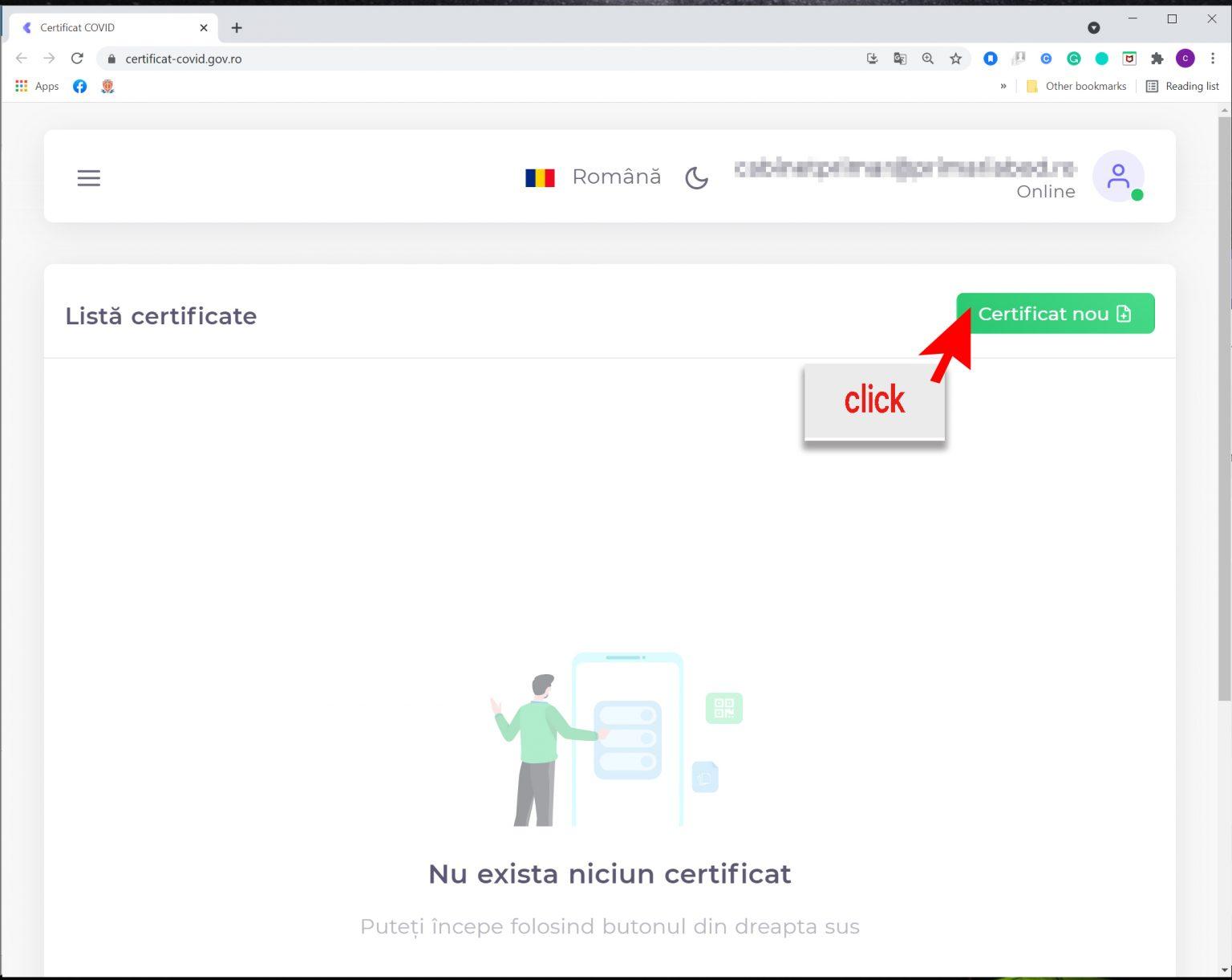 4-Generare certificat